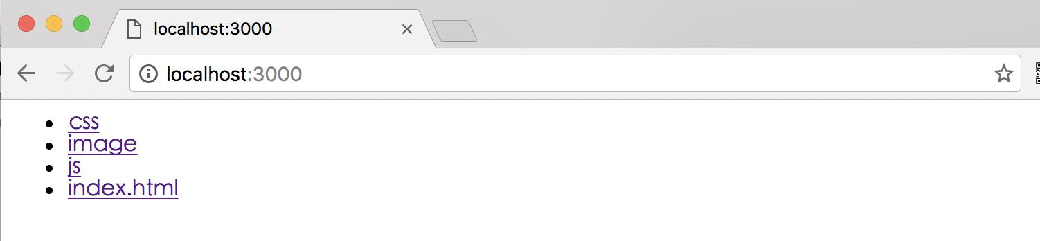 static-server-result